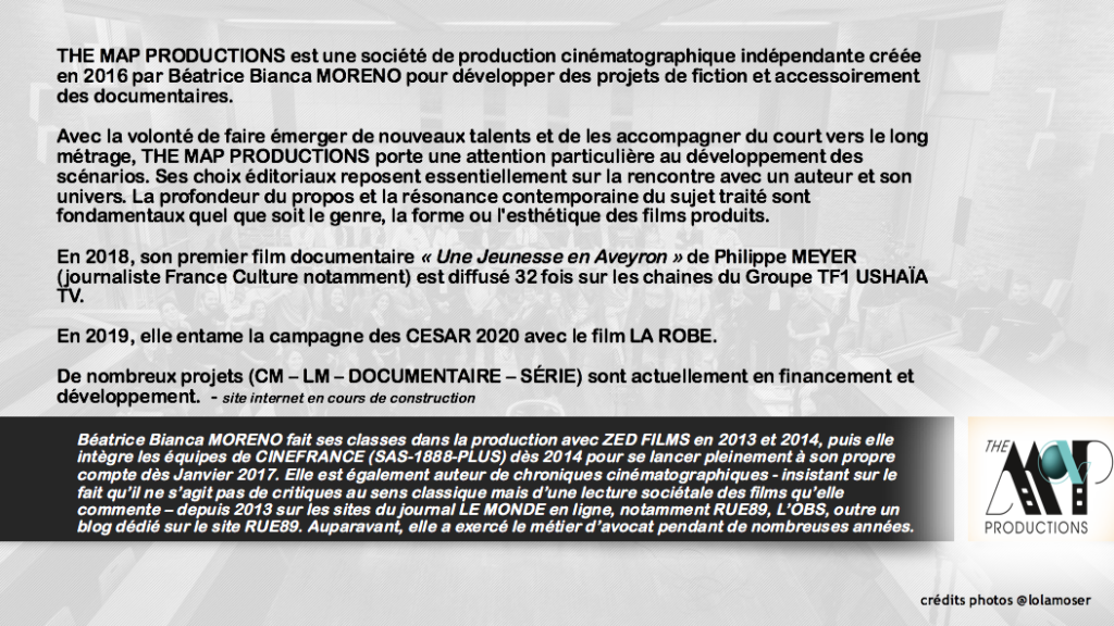 PRESS KIT - LA PRODUCTION